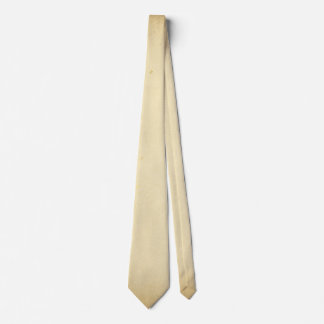 Ancient Parchment Stained Yellowed Vintage Blank Tie
