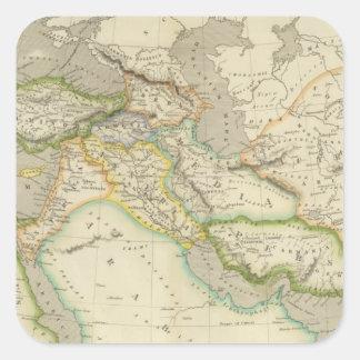 Ancient Persian Empire Square Sticker