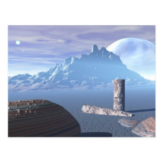 Ancient Planet Postcard
