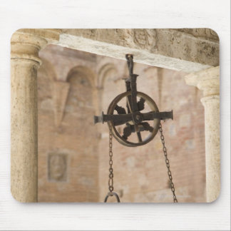 ancient public water well mouse pad