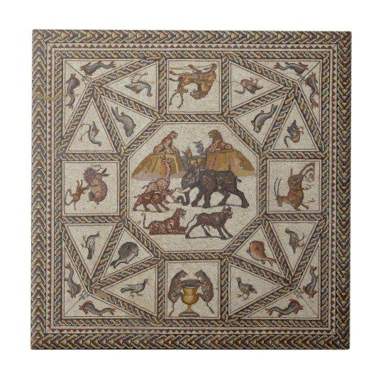 Ancient Roman Art Coaster Tile Replica