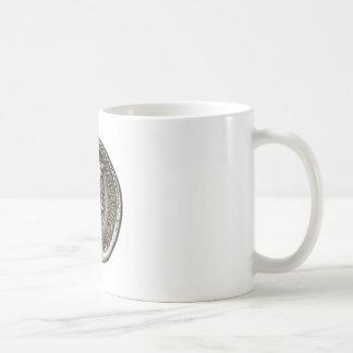 Ancient Roman Coin Marc Antony Basic White Mug