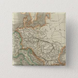 Ancient Roman Empire 15 Cm Square Badge