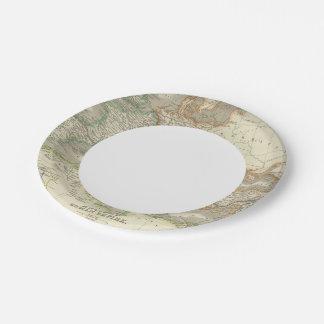Ancient Roman Empire 7 Inch Paper Plate