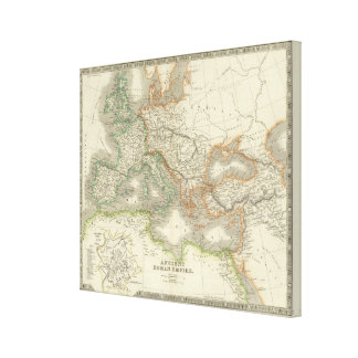 Ancient Roman Empire Canvas Print