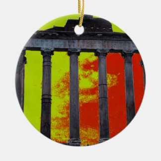 Ancient Roman Forum Christmas Ornament