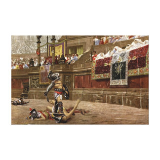 Ancient Roman Gladiators Canvas Print
