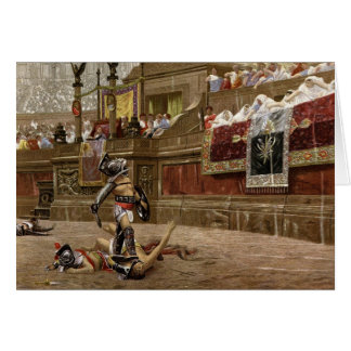 Ancient Roman Gladiators Card