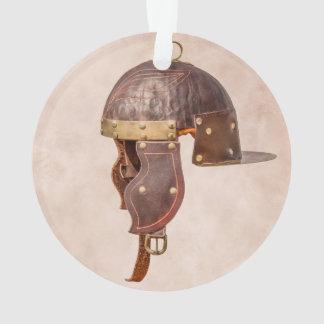 Ancient Roman military helmet