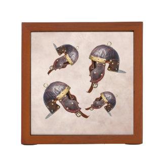 Ancient Roman military helmet Desk Organiser