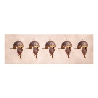 Ancient Roman military helmet Photo Print