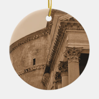 Ancient Roman Pantheon Christmas Ornament