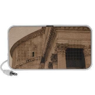 Ancient Roman Pantheon Fine Art Photo Portable Speaker