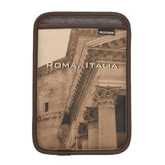 Ancient Roman Pantheon Photo Rome Italy Fine Art Sleeve For iPad Mini