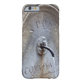 Ancient Roman public water fountain Barely There iPhone 6 Case
