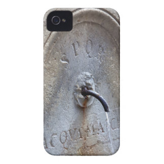 Ancient Roman public water fountain iPhone 4 Case-Mate Case