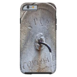 Ancient Roman public water fountain Tough iPhone 6 Case
