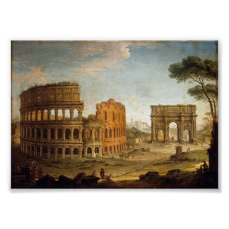 Ancient Rome Colosseum Poster or Print
