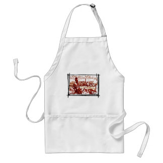 Ancient Rome -  Naval fleet is coming Standard Apron