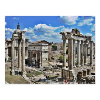 Ancient Rome Postcard