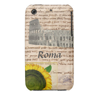 Ancient Rome Sunflower Case iPhone 3 Cases