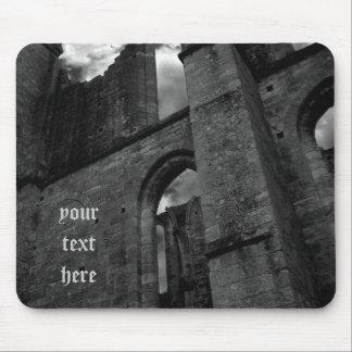 Ancient ruins Larchant souvenir Mousepad