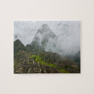 Ancient ruins of Machu Picchu with Andes Jigsaw Puzzle