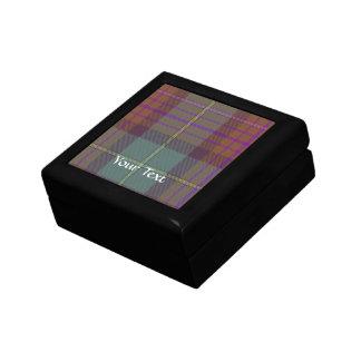 Ancient Scottish tartan Gift Box