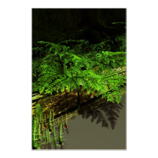 Ancient Seed Fern Poster