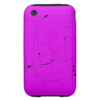 Ancient Shell Purple Tough iPhone 3 Covers