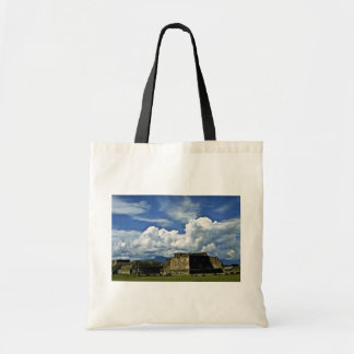 Ancient Site Of Monte Alban, Near Oaxaca Canvas Bags