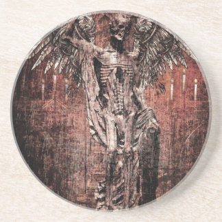 Ancient Skull Wing Dead Zombie Coaster