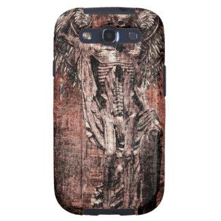 Ancient Skull Wing Dead Zombie Galaxy S3 Case