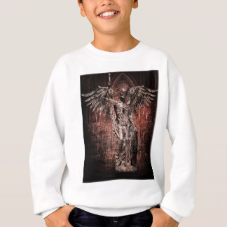 Ancient Skull Wing Dead Zombie Sweatshirt