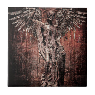 Ancient Skull Wing Dead Zombie Tile