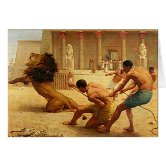 Ancient Sport by Kilburne Card