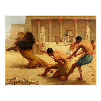 Ancient Sport by Kilburne Postcard