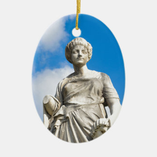Ancient statue christmas ornament