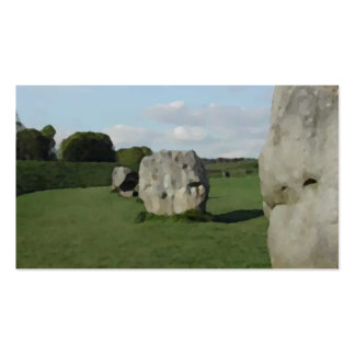 Ancient Stone Circle. Avebury, Wiltshire, England. Business Card