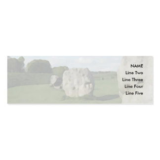 Ancient Stone Circle. Avebury, Wiltshire, England. Pack Of Skinny Business Cards