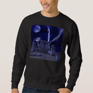 ancient stone landscape sweatshirt
