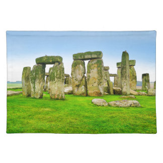 Ancient Stonehenge Standing Stones in Summer Art Placemats