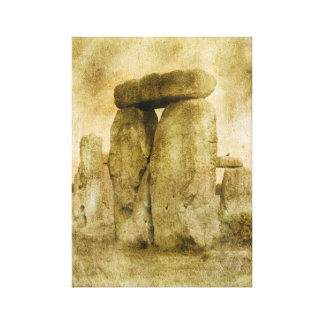 Ancient Stones Canvas Print