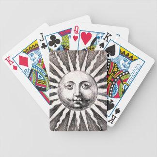 Ancient Sun Motif Playing Cards