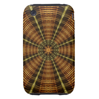 Ancient Temple Mandala iPhone 3 Tough Covers