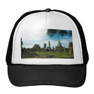 Ancient temple ruins, near Bangkok, Thailand Trucker Hat