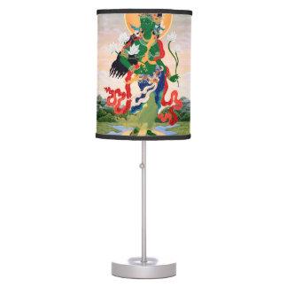 ANCIENT TIBETAN ART TABLE LAMPS