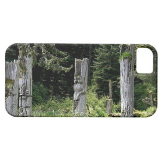 Ancient Totems Heritage Site Haida Gwaii iphone5 Case For The iPhone 5