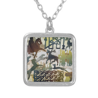Ancient Travellers 1995 Silver Plated Necklace