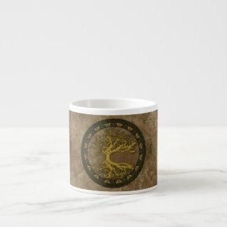 Ancient Tree of Life Espresso Mug